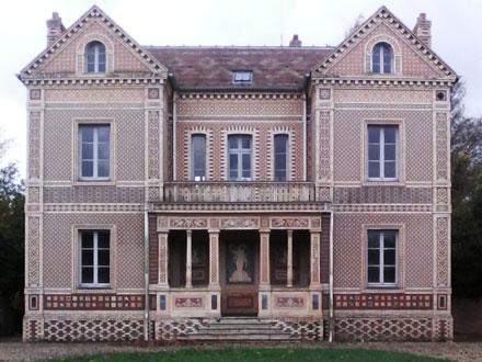 Maison patronale des frères Boulenger, av. du Maréchal Foch à Auneuil (60) (ph. FM 2014)