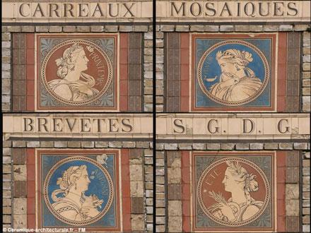 Magasin d'expédition de la manufacture des frères Boulenger à Auneuil (60) (ph. FM 2004)