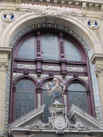 Magasin et bureaux de la Faïencerie de Choisy-le-Roi Hippolyte Boulenger & Cie, à Paris (ph. FM 2011)