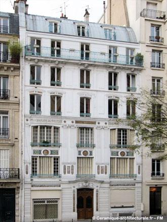 Atelier de François Gillet, 9 rue Fénelon à Paris (ph. FM 2011)