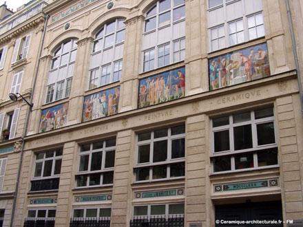 Atelier de Jules Loebnitz, 4 rue de la Pierre Levée à Paris (ph. FM 2009)