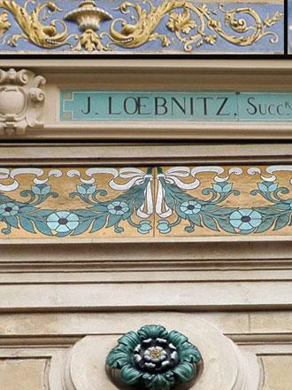 Décors Pichenot-Loebnitz, 6 et 4 rue de la Pierre Levée à Paris (ph. FM 2009)