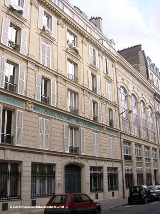 Immeuble Pichenot-Loebnitz, 6 rue de la Pierre Levée à Paris (ph. FM 2009)