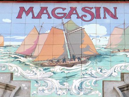 Le Magasin de la plage à Blankenberge (Belgique)