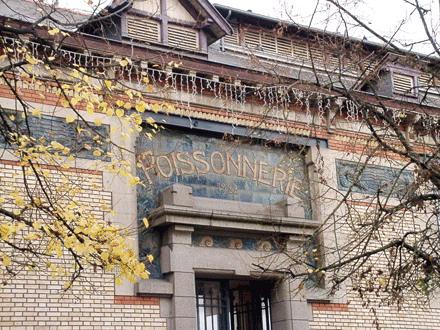 Poissonnerie 1922, Gentil & Bourdet, Rennes (35)