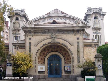 Décors aquatiques, Gentil & Bourdet, piscine de Rennes 1923-1926 (35)