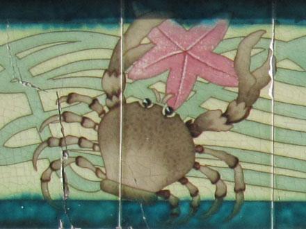 Crabe, Villa aux multiples décors en front de mer au Tréport (76)