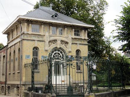 Bureaux du négociant Ferdinand Sipeyre dès 1910, avenue du Maréchal Leclerc à Châlons-en-Champagne (51)