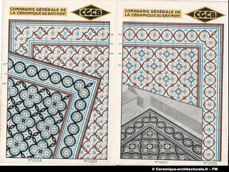 Dépliant CGCB / Cérabati, vers 1925-1935